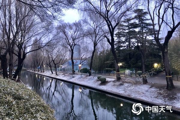 北京雨雪中午前趋于结束