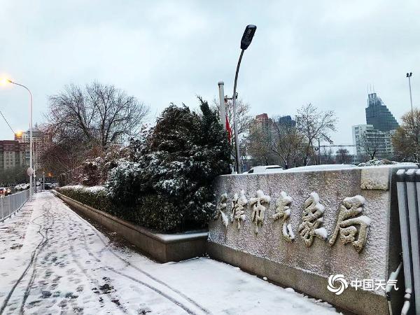 牛年首场降雪!绵绵白雪扮靓天津