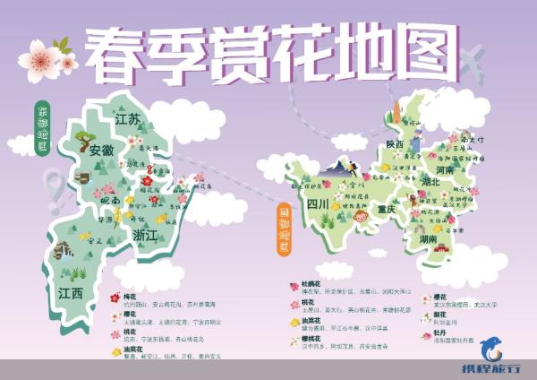 春回大地节后旅游复苏,赏花游热度上涨280%