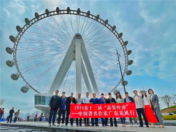 中国著名作家看好宝安影视产业的发展前景