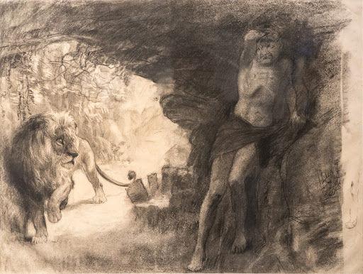 徐悲鸿《奴隶与狮》以史上最高估价亚洲艺术品将亮相5月佳士得香港春拍