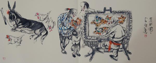 河北辛集农民画:充满乡土味的奇葩