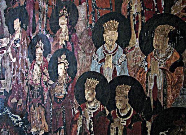 《白沙壁画临摹精品展》亮相桂林 吸引众多游客到场参观