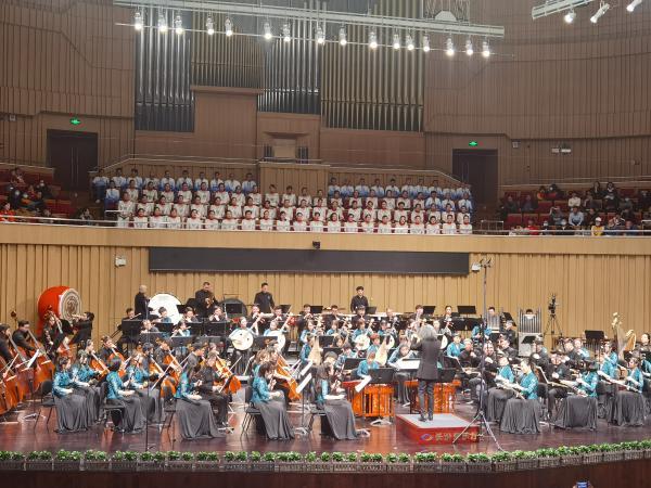 大型原创民族管弦音乐会《湘秀》献礼建党100周年