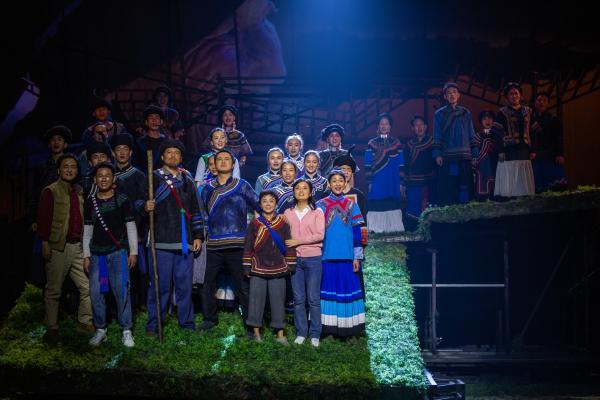 庆祝建党100周年 民族歌剧《听见索玛》复排后首演
