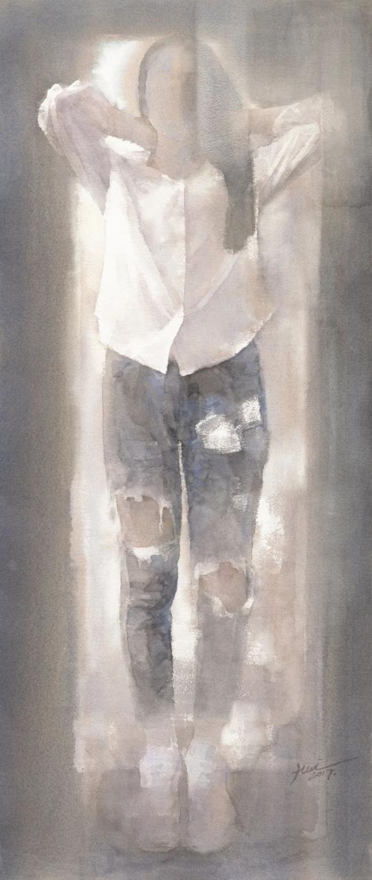真水无香——段辉艺术展在湖南省画院美术馆开幕