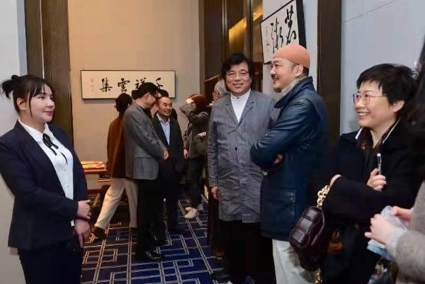 """""""翰游·王鲁湘辛丑书写展""""在中国大饭店天封艺术空间举行"""