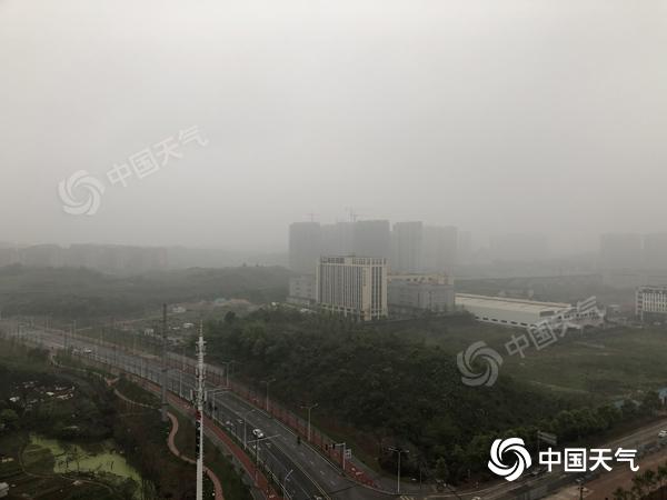清明节下雨明天湘西北将有中到大雨