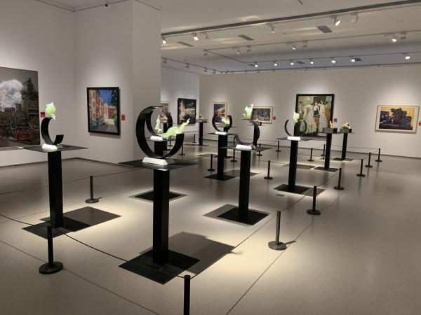 中国·鞍山书画和岫岩玉玉雕精品展将在广州开展