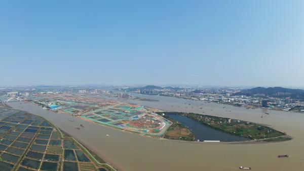 广州南沙横沥岛尖滨水景观设计方案出炉
