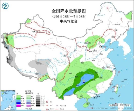 本周南方阴雨频繁 东北气温大起大落