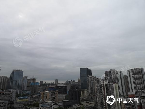 清明假期最后一天 重庆以多云为主 明天 雨将会增加 当地将会有大雨