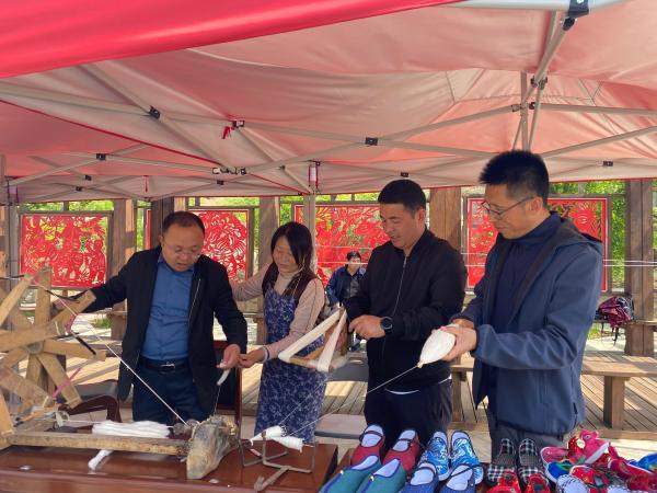 """开拓创新,丰富的文旅活动使永和县的""""五一""""假期人气旺"""