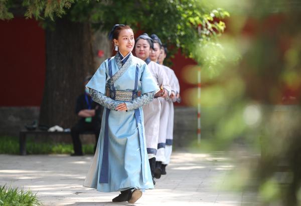 邹鲁礼乐晋京展演传统礼乐文化