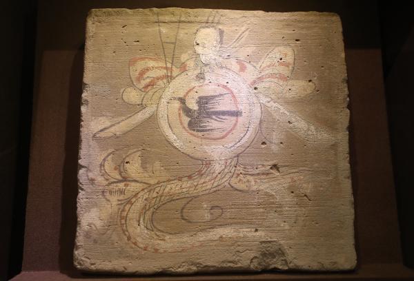 河西画像砖展现古人生活百态