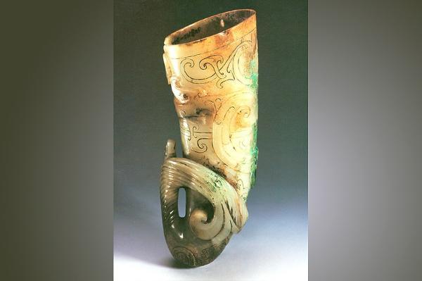 看见文物 | 犀牛角形状的玉杯,你见过吗?