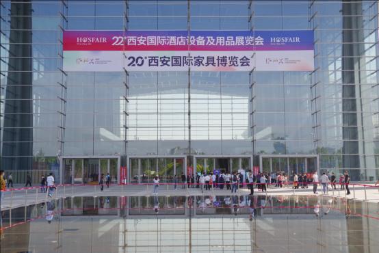 第22届西安酒店用品展精彩不断 行业手艺人技艺精湛引关注