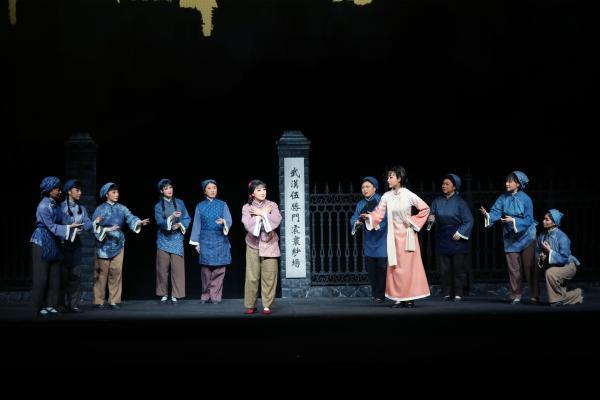 革命现代京剧《向警予》在长沙正式首演