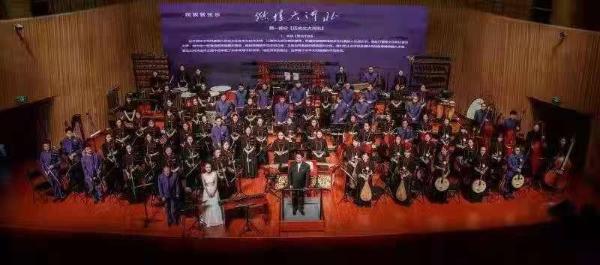 大型民族管弦乐《燃情大河北》在石家庄首演