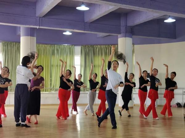 老艺术家文化志愿服务工程走进广西北海开展志愿服务