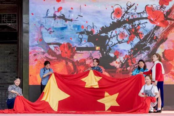 学党史、传精神、跟党走——安徽天长文艺志愿活动进社区