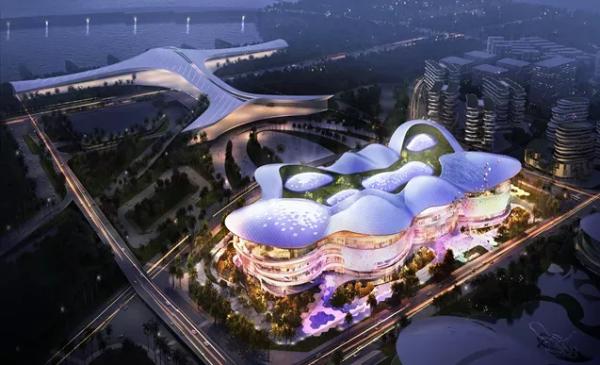海口国际免税城预计明年6月营业 投资超百亿元