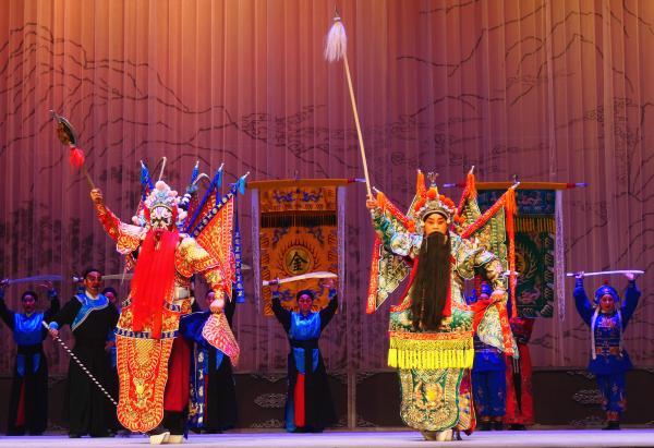 丹心壮歌+武戏绝活 唱做打并重的秦腔《潞安州》西安上演