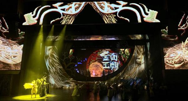 大型东方神话秀《金面王朝》焕新回归,尽显中国风格中国气派