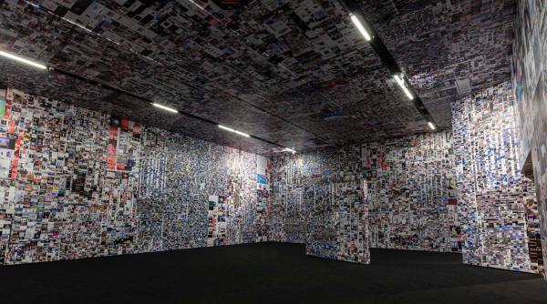 """红砖美术馆""""图像超市""""开业 在艺术中反思""""图像经济"""""""