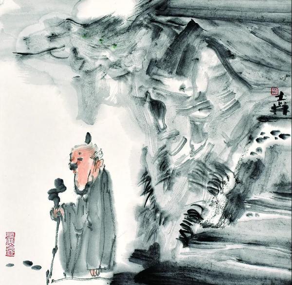 """""""传承.创造——黄志林艺术旅痕""""在石家庄展出"""