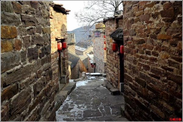 藏在深山的太行川寨——王硇古村