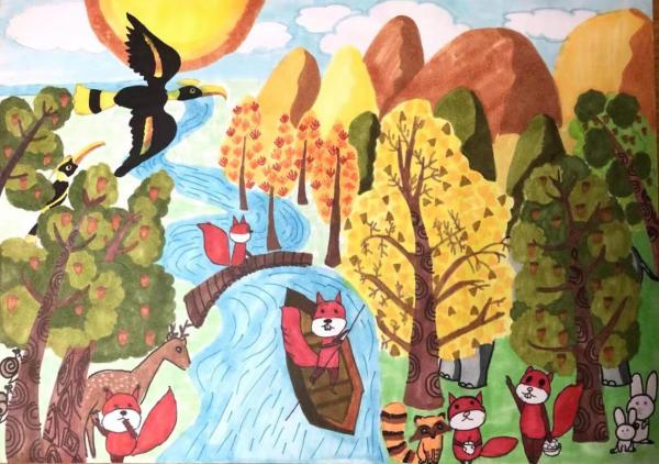 """""""2021自然与艺术-保护生物多样性全球艺术大赛""""公布入选结果"""