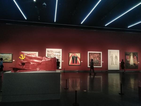 江苏省庆祝建党百年美术书法精品展讴歌党的百年伟大成就