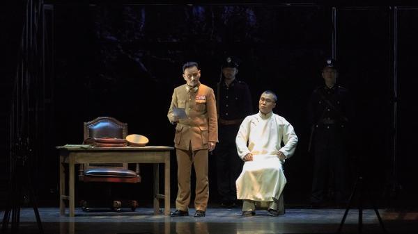 话剧《雨花台》在江苏大剧院上演,千余名干部职工观看演出