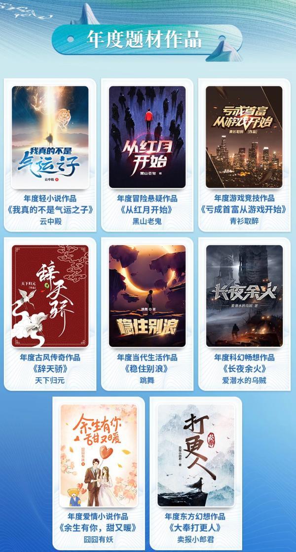 """第六届阅文原创IP榜揭晓,30部优秀网文作品展现""""好故事""""生命力"""