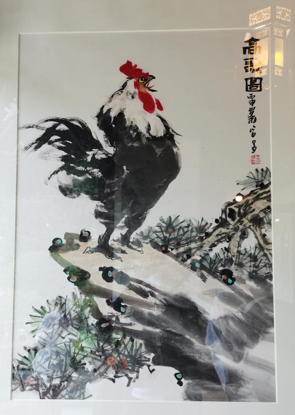 """""""三牛精神""""中国书画作品展在武汉开幕"""