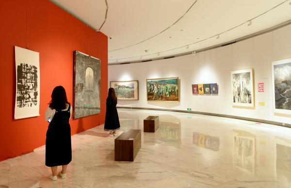 庆祝建党100周年深圳市美术作品展暨书法、摄影作品展开展