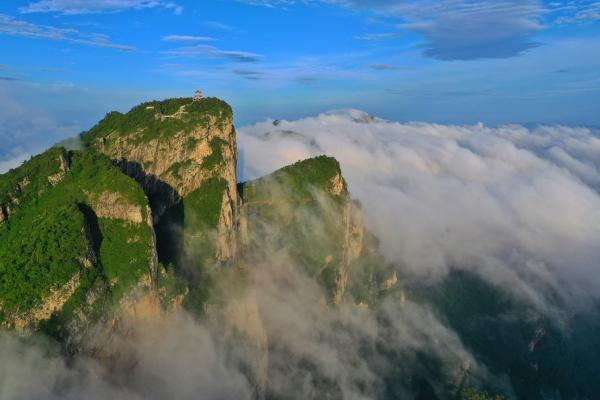 秘境——赴河南西峡老界岭,看云海奇观