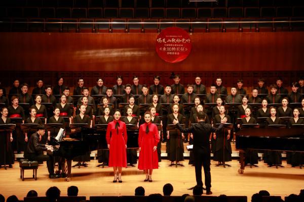 陕西群众歌咏《永远的长征》合唱音乐会:歌咏红色历程、唱出群众心声