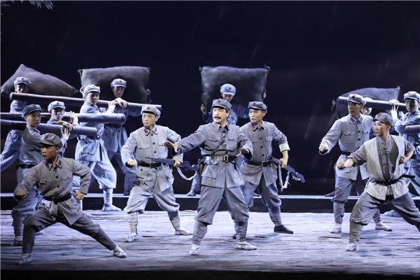 原创大型红色舞台剧河北梆子《孙毅将军》首演