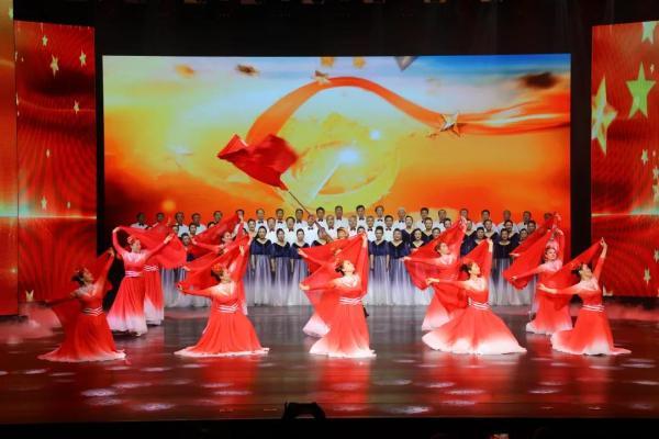 河北省非遗优秀节目展演颂歌献给党