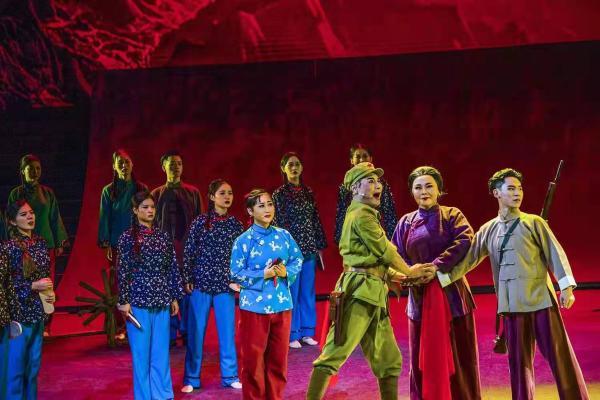 河北艺术职业学院倾力打造河北梆子情景诗剧《党的女儿》