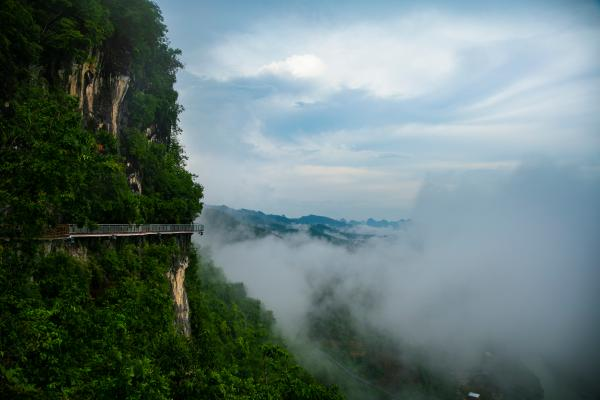 第二届大新德天徒步登高定向挑战赛将于7月11日举行