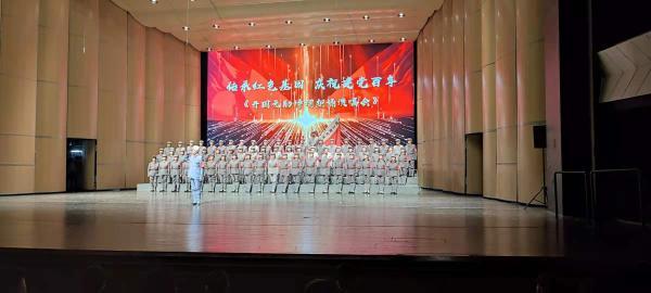 开国元勋诗词朗诵音乐会,一场建党百年的隔空重逢
