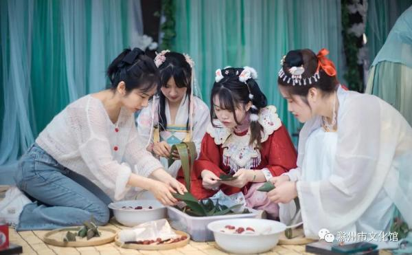安徽滁州端午节非遗研学乐融融