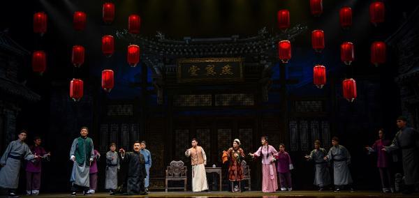 作为开幕演出亮相,京剧《燕翼堂》参加山东新创剧目评比