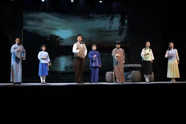吕剧《热血芳华》首演 展共产党人初心使命