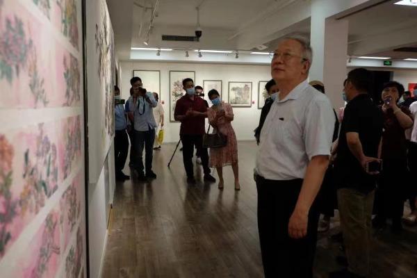 """第12届""""春之花""""全国美术作品邀请展庆祝中国共产党成立100周年"""