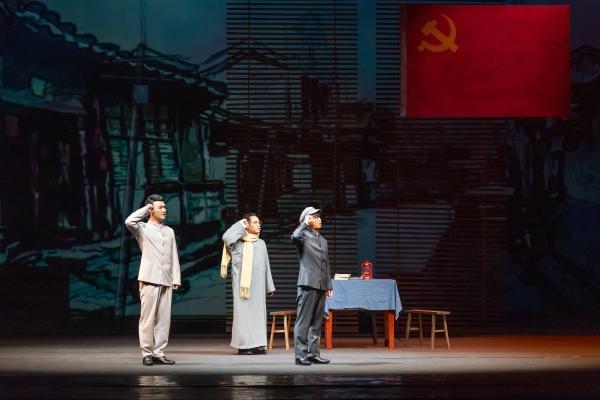 话剧《谭寿林》亮相广西剧展,用舞台艺术致敬革命先烈