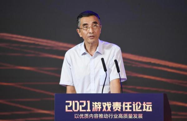 """张毅君:以""""四高""""推动游戏行业高质量发展"""
